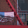 American Flag in New York City (Honor part 1)